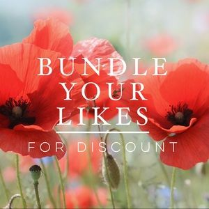 Other - Bundle Your Likes For A Discount!!